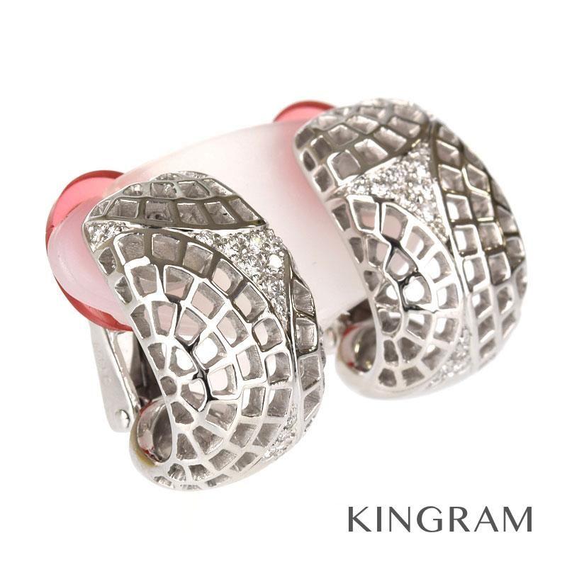 今季一番 カルティエ K18WG 750 Cartier アジュレ イヤリング K18WG 750 ダイヤモンド クリーニング済 ku ku【】, SSマツムラ:8a6d8854 --- spotlightonasia.com