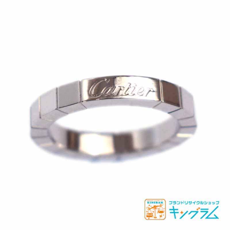 カルティエ Cartier ラニエールリング K18WG 51 11号 750 se 【中古】