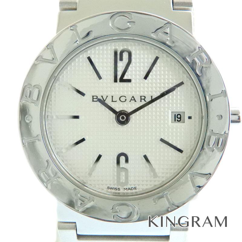 ブルガリ BVLGARI ブルガリブルガリ BB26SSレディース腕時計 クオーツ 箱 ギャランティ付き アイボリー文字盤 tu 【中古】