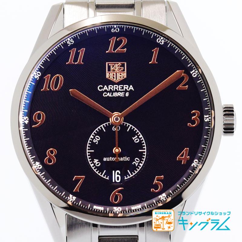 タグホイヤー TAG Heuer WAS2114.BA0732 カレラ ヘリテージ キャリバー6 自動巻き メンズ腕時計 yagi【中古】