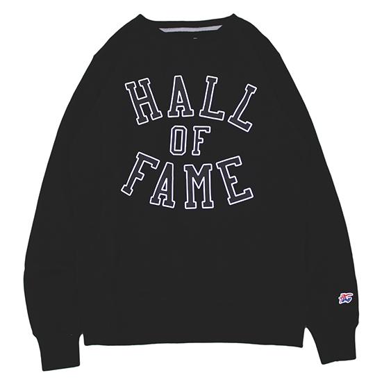 【 送料無料 】 【 HALL OF FAME / ホール・オブ・フェイム 】 Harlem 3M Crewneck Sweat スウェット / ブラック 【あす楽対応_東北】【あす楽対応_関東】 ( HALL OF FAME ホールオブフェイム ) ( トレーナー )