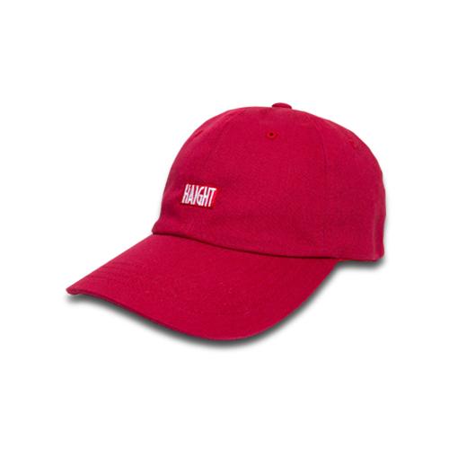 HAIGHT ヘイト HAIGHT BOX LOGO BALL CAP  ボールキャップ ベントブリムキャップ キャップ 帽子 レッド