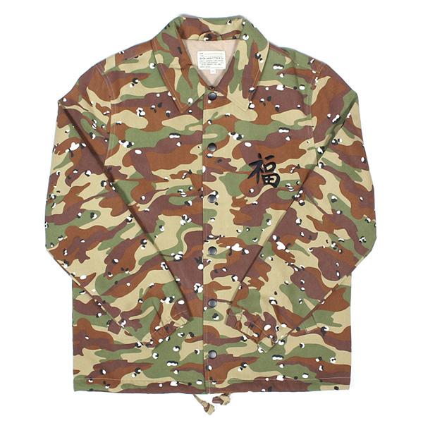 送料無料 7UNION 7ユニオン The Fook Jacket コーチジャケット メンズ アウター IAXY-007C 迷彩 サンドカモ