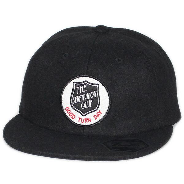 7UNION 7ユニオン Good Turn Day Ball Cap メルトン ボールキャップ ユニセックス キャップ 帽子 IPVW-133 ブラック