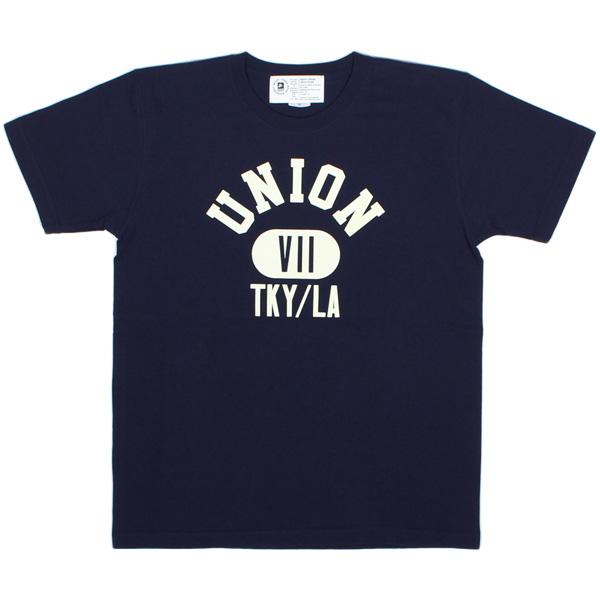 7ユニオン Tシャツ 7UNION Property Of 7union Tee IPVW-013C NAVY ネイビー