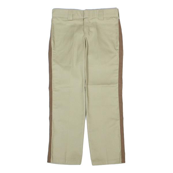 7ユニオン ラインパンツ 7UNION Remake Side Line Tape Pants IPVW-021C KHAKI カーキ BROWN LINE ブラウン ライン
