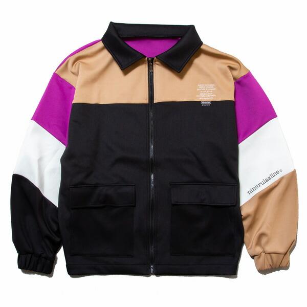 ナインルーラーズ ジャージー メンズ レディース 送料無料 NINE RULAZ LINE Multi Jersey Jacket ジャージージャケット セットアップ ストリート レゲエ ブランド M-XXL マルチカラー NRAW19-005