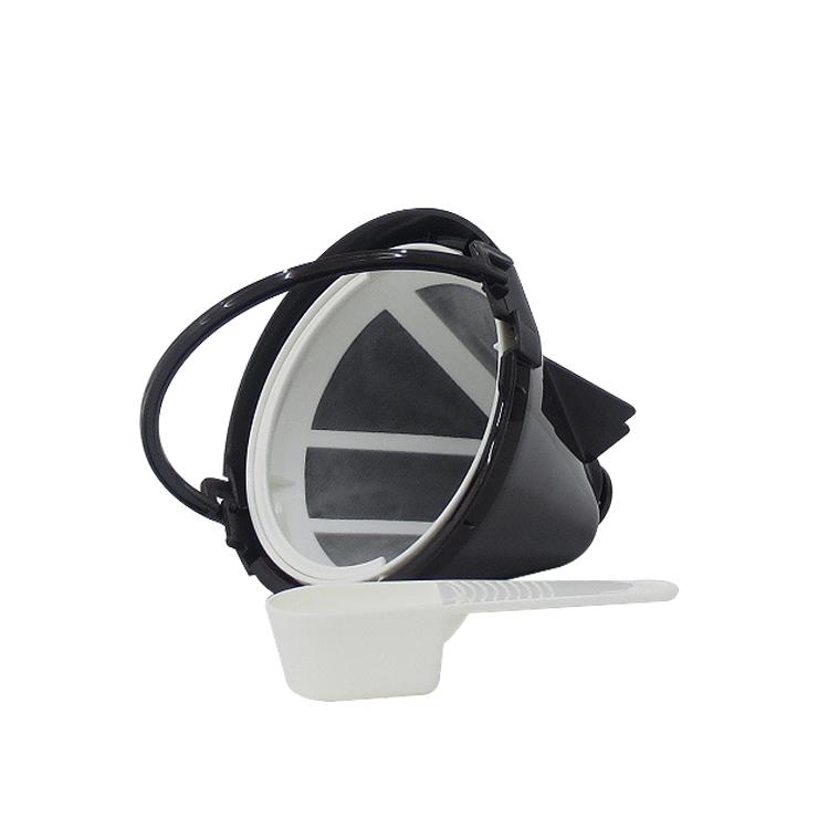 Toffy ハイクオリティ アロマドリップコーヒーメーカー用 別売 スペアパーツ オプション バスケット ハイクオリティ K-CM5-BFS オプションパーツ 付属品 トフィー 計量スプーンセット フィルター