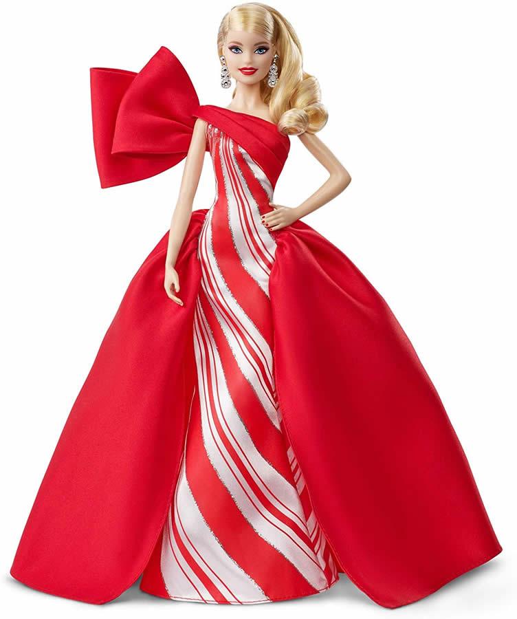 バービーシグネチャー 2019 ホリデードール (Barbie 2019 Holiday Doll, Blonde/Mattel/FXF01/人形/コレクター)