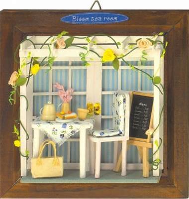 No. 2 street corner series ♪ Rose Terrace that miniature ☆ house kit has a cute