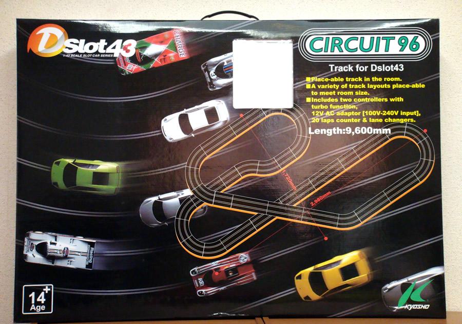 Dslot43赛车场96(1/43 Scale Slot Car Series/CIRCUIT96/沟赛车/京商/KYOSHO/D1434091)