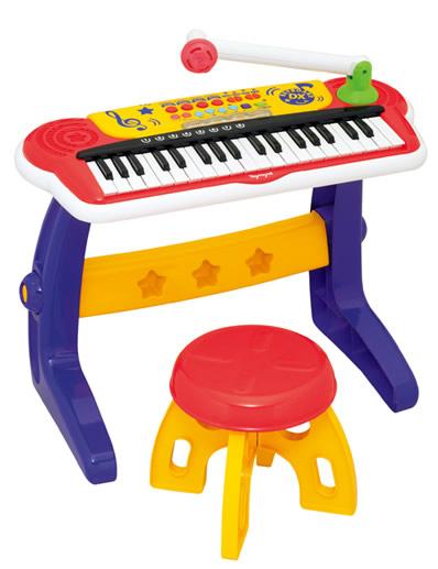 キッズキーボードDX (トイローヤル/おもちゃ/楽器)