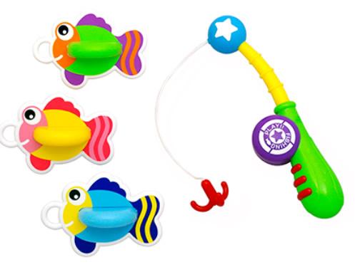お子様とのお風呂場でのコミュニケーションに おふろで魚つり 上質 卓抜 トイローヤル