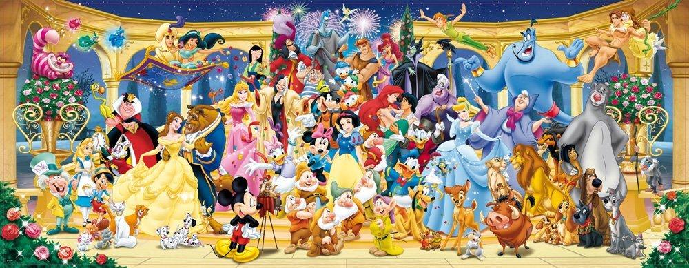 ディズニー ジグソーパズル 1000ピース ディズニーキャラクター大集合 (Disney/ Ravensburger  Puzzle/15109)|王様のおもちゃ 楽天市場店