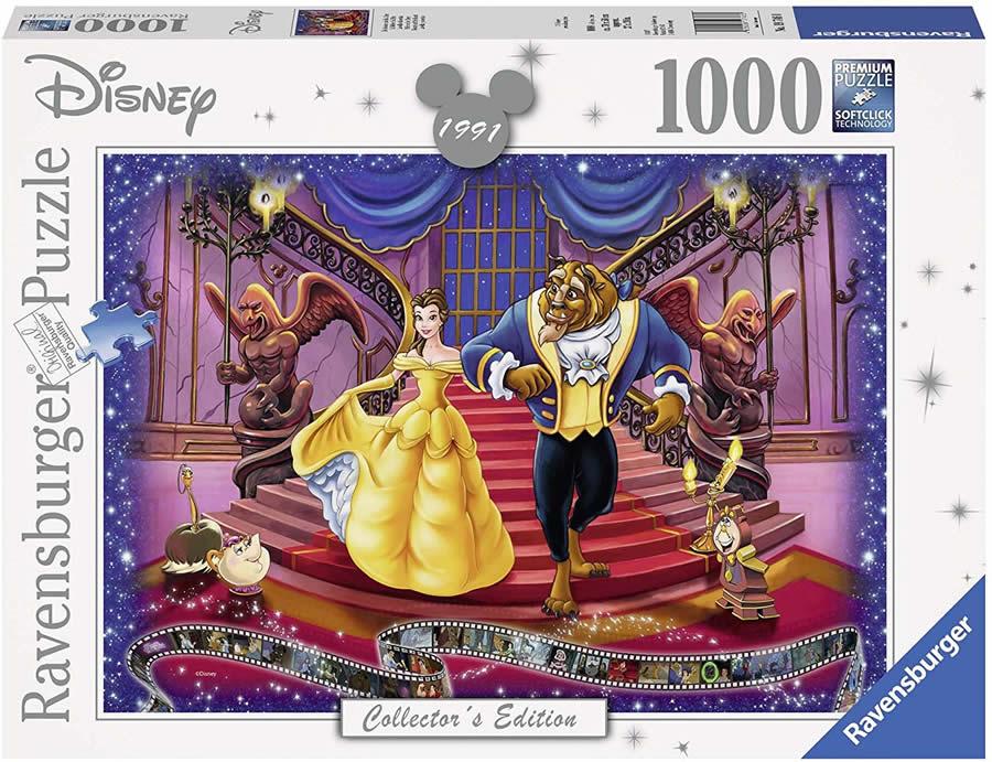ディズニーのジグソーパズルで遊ぼう パズル ディズニー ジグソーパズル 美女と野獣 1000ピース 新品未使用正規品 Disney Beauty and Beast Ravensburger ラベンスバーガー Puzzle 驚きの値段 the 19746