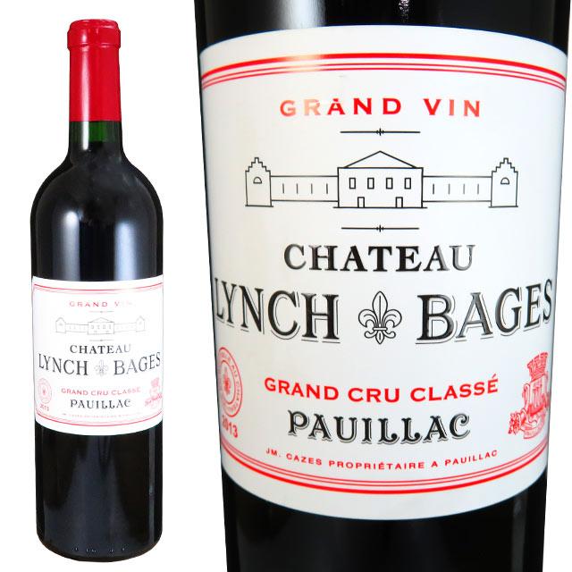 シャトー ランシュ バージュ 2013 750ml赤 ポイヤック 格付5級 Chateau Lynch Bages