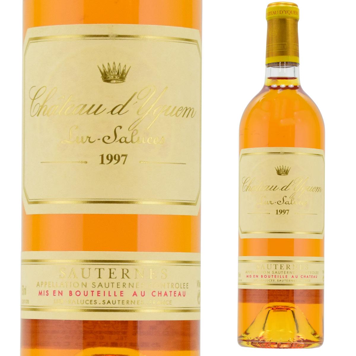 シャトー・ディケム 1997 750ml 貴腐ワイン ソーテルヌ 格付1級 Sauternes chateau d'Yquem