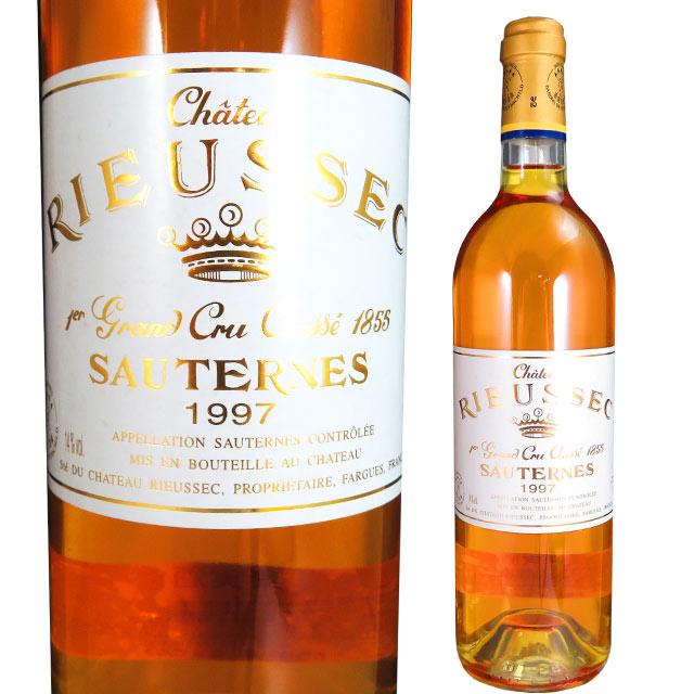 シャトー リューセック 1997 750ml 貴腐ワイン ソーテルヌ 格付1級 【Sauternes デザートワイン】