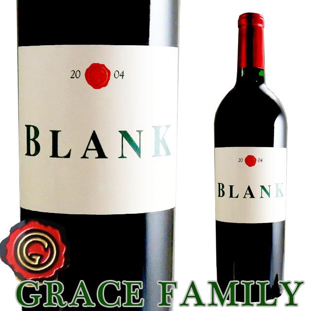 グレース・ファミリー ブランク ヴィンヤード 2004 750ml赤 カリフォルニア Grace Family Blank Vineyard