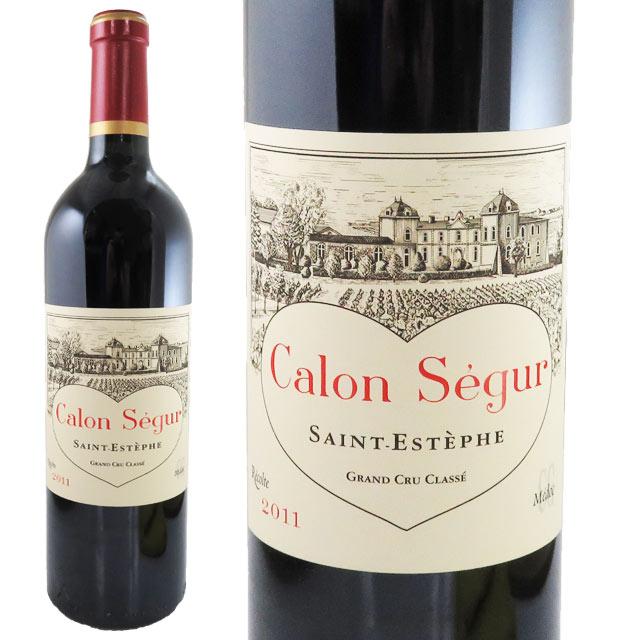 シャトー・カロン・セギュール 2011 750ml サンテステフ 格付3級 Chateau Calon-Segur