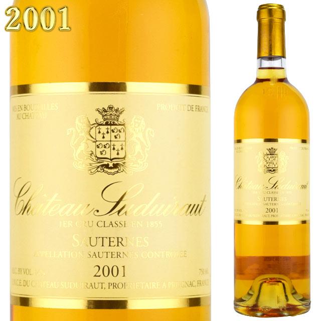 シャトー・スデュイロー 2001 750ml ソーテルヌ 貴腐ワイン 【Sauternes デザートワイン】
