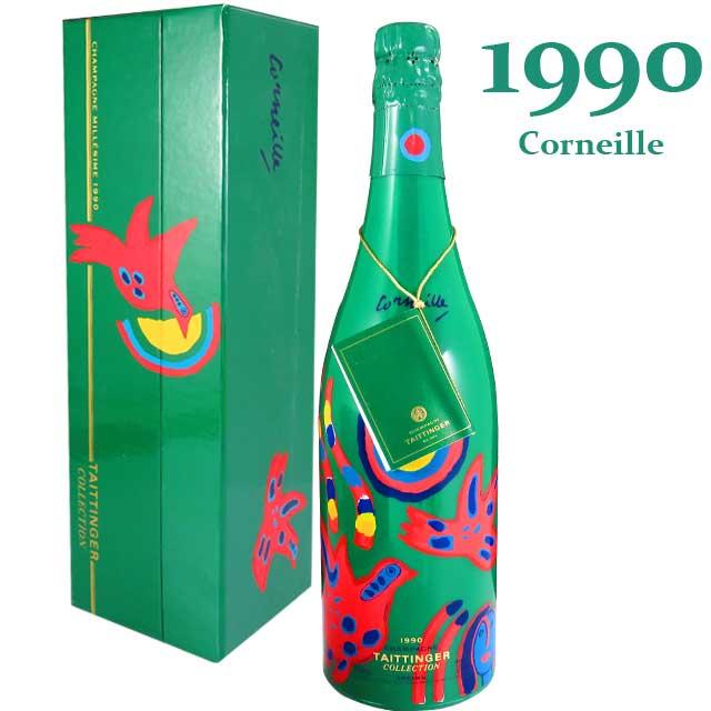 テタンジェ コレクション 1990 750ml箱入 アートラベル コルネイユ TAITTINGER Collection Corneille※北海道・東北地区は、別途送料1000円が発生します。
