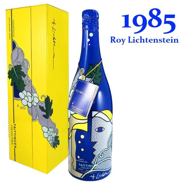 テタンジェ コレクション 1985 750ml箱入 アートラベル ロイ・リキテンスタイン TAITTINGER Collection Roy Lichtenstein