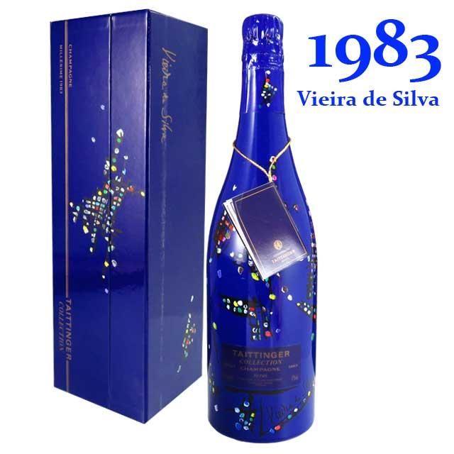 テタンジェ コレクション 1983 750ml箱入 アートラベル マリア・エレナ・ヴィエイラ・ダ・シルヴァ TAITTINGER Collection Maria Helena Vieira da Silva