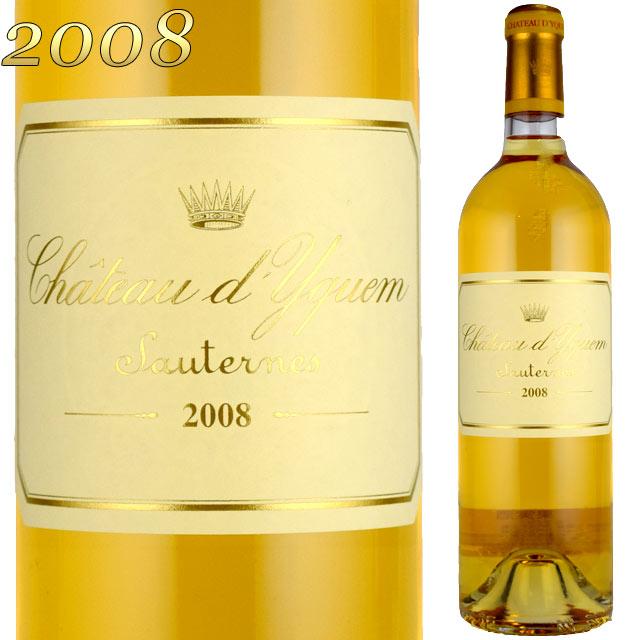 シャトー・ディケム 2008 750ml 貴腐ワイン ソーテルヌ 格付特別1級 Chateau D'Yquem