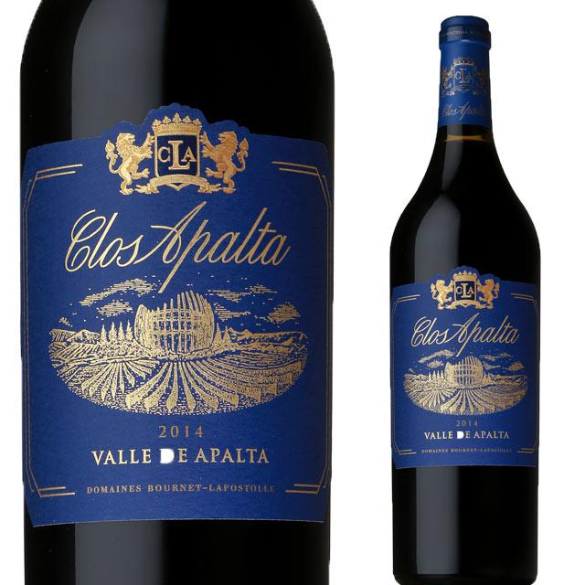 カーサ・ラポストール クロ・アパルタ 2014 750ml赤 CLOS APALTA チリワイン セントラルバレー ラペルバレー コルチャグアバレー