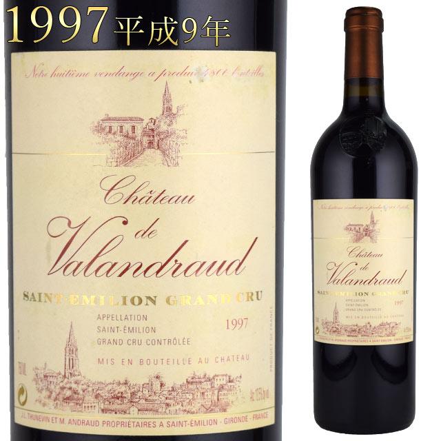 ヴァランドロー 1997 750ml赤 サンテミリオン ジャン・リュック・テュヌヴァン Chateau de Valandraud ボルドーワイン