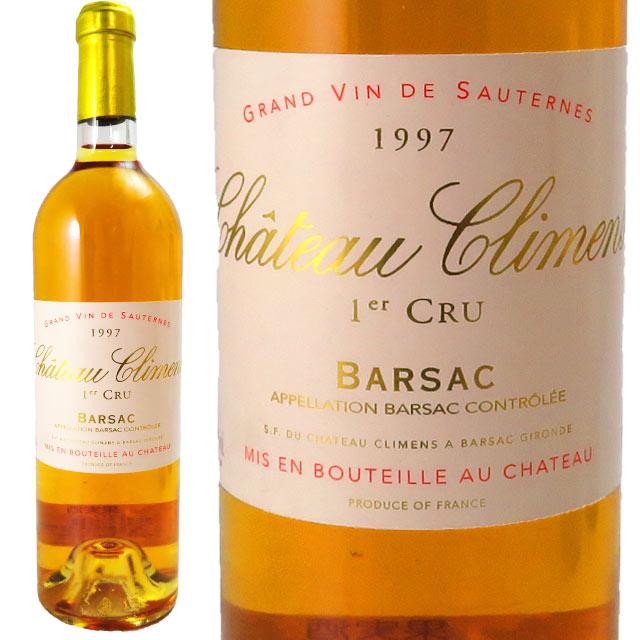 シャトー・クリマン 1997 750ml バルザック 貴腐ワイン 格付1級 【Sauternes デザートワイン】