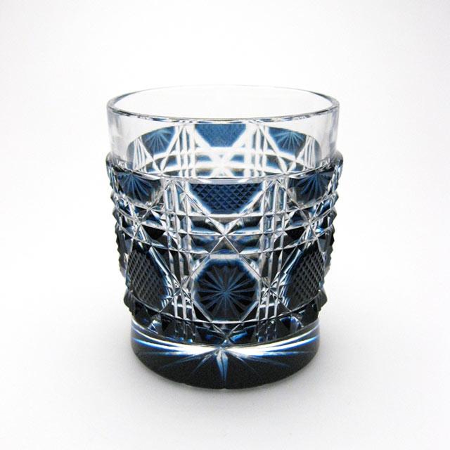 薩摩切子 オールド 藍 母の日 父の日 ギフト 薩摩切子 グラス 焼酎グラス 薩摩切子グラス オールド 還暦祝 結婚祝 退職祝 記念品