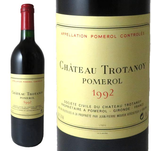 シャトー・トロタノワ 1992 750ml ポムロール Pomerol Chateau TROTANOY