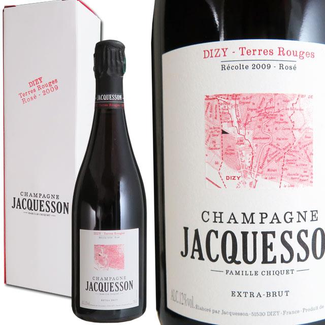 ジャクソン ロゼ ディジー テール ルージュ 2009 750ml箱入 シャンパーニュ EXTRA BRUT ROSE DIZY TERRE ROUGE JACQUESSON 送料無料