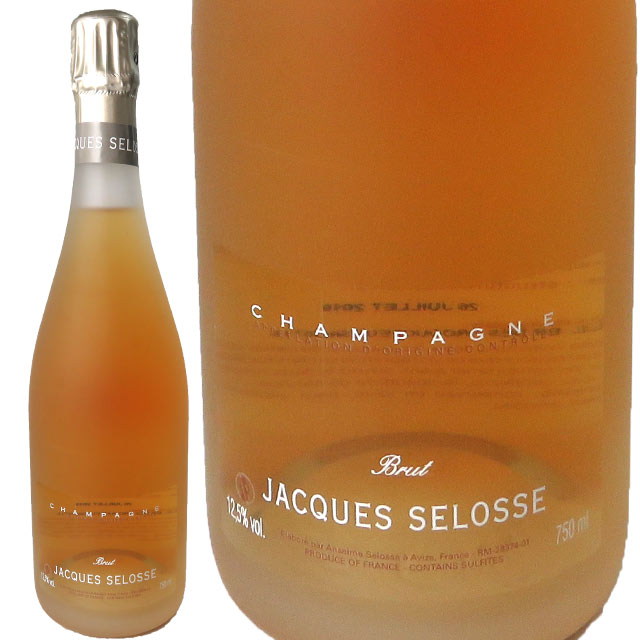 ジャック・セロス ロゼ 750ml NV JACQUES SELOSSE JACQUES SELOSSE Rose Brut