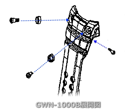供卡西欧[CASIO]G-SHOCK GWN-1000B使用的带(皮带)