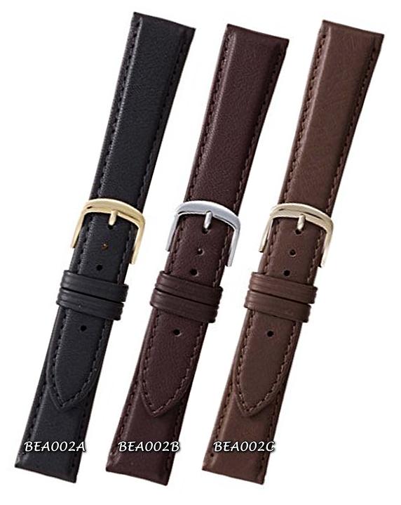 バンビ時計ベルト肌にやさしくかぶれにくい時計ベルト【紳士用】