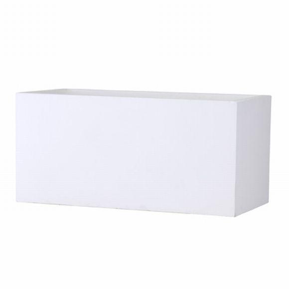 【一週間以内に発送】□ バスク プランター 80cm ホワイト