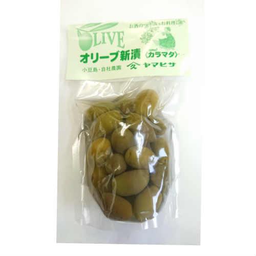 オリーブ新漬け85g(カラマタ)