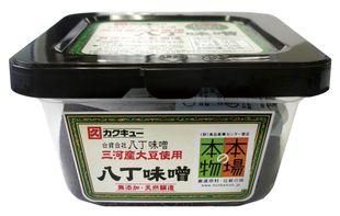 最安値 カクキュー三河産大豆使用 八丁味噌300g 新色追加して再販