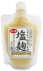祝開店大放出セール開催中 国産有機玄米使用 実物 海の精 塩麹 こだわり塩屋の有機