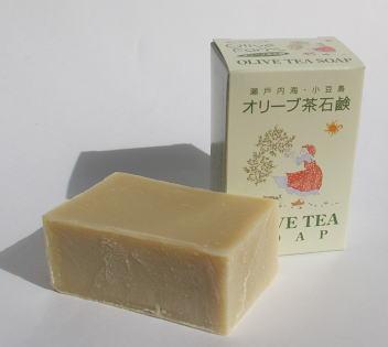 安値 オリーブ油 ココナッツ油 春の新作続々 パーム油使用 オリーブ茶石鹸 無香料 標準重量120g