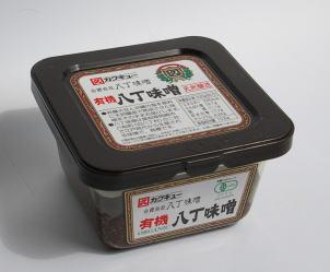 売買 JAS認定オーガニック カクキュー 有機 300g 豆味噌 八丁味噌 永遠の定番