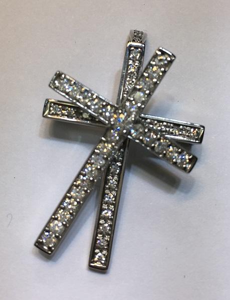ペンダントトップK18ダイヤモンド重量:6.8g