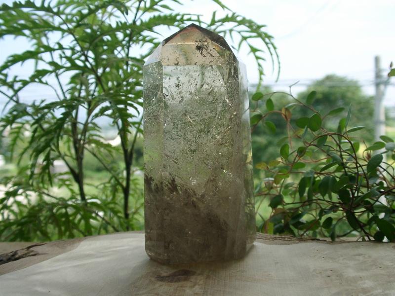 シトリン(黄水晶) ポイント約10.5×5.2cm