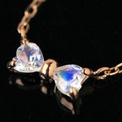 【ブルームーンストーン カラーゴールドネックレス・ルフラティー】 華奢 シンプル ジュエリー ブランド 宝石