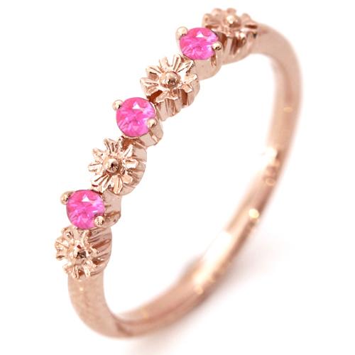 ピンクスピネル 桜色リング レディース 天然石 ピンクゴールドリング レディース 指輪・桜景色 桜 アクセサリー 華奢 シンプル ファッションリング 可愛い ゆびわ ジュエリー 桜色カラーストーン モチーフ 可愛い ファッションリング ブランド カラフル 宝石 おしゃれ