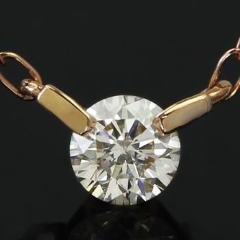 【あす楽対応】0.1ctダイヤモンド K10 ピンクゴールド ホワイトゴールド イエローゴールド ネックレス レディース ペンダント・アルテミア 一粒ダイヤ シンプル プレゼント ギフト 誕生日プレゼント 華奢 シンプル ジュエリー クリス ブランド 宝石