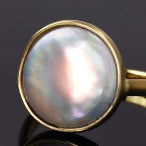 コインパールの指輪